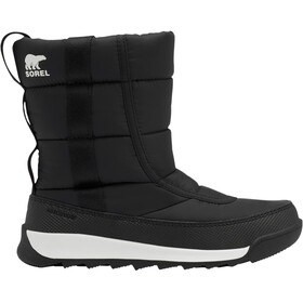 Sorel Whitney II Puffy Botas Medias Jóvenes, black